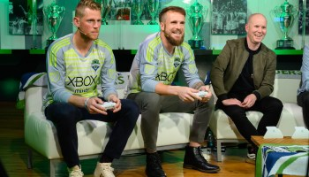 Sounders soccer stars compete for video game bragging rights at FIFA 19 tournament