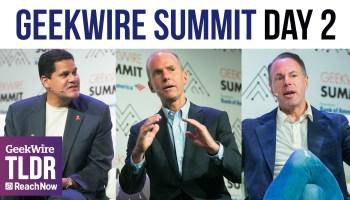 TLDR: GeekWire Summit Highlights — Nintendo, eBay, Boeing