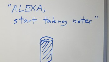 A talking white board? Alexa for Business extends to non-Echo devices for workplace environments