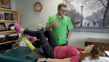 After a broken leg and blood clot, this entrepreneur built a portable recumbent exercise bike