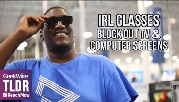 TLDR: IRL Glasses block out TV & computer screens