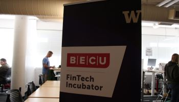 Univ. of Washington launches fintech incubator with BECU in Seattle, unveils initial startups