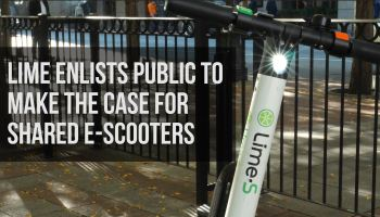 Lime previews shared e-scooters in Seattle, seeking public support to end the city's ban