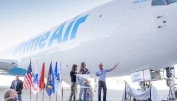 Jeff Bezos unveils Amazon Prime Air's flying tribute to veterans: Valor
