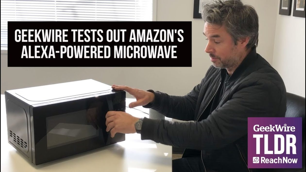 voice controlled microwave a spin