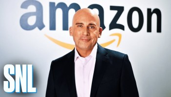 Steve Carell as Jeff Bezos on 'Saturday Night Live' trolls Trump just days after Amazon picks HQ2 sites