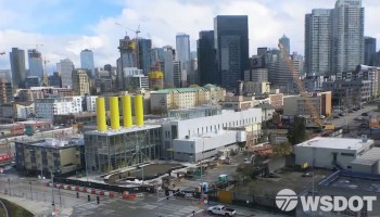 Watch: As Seattle tunnel nears opening, 6-year time-lapse also captures Amazon going up, up up