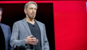 Instead of a real check on the growing power of Amazon Web Services, Oracle's Larry Ellison offers nothing but words