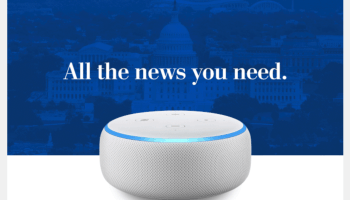 Washington Post Dot com: Newspaper pushing free Amazon device to lure new digital subscribers