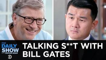 Bill Gates engages in potty talk with 'The Daily Show' as he explains need to reinvent the toilet