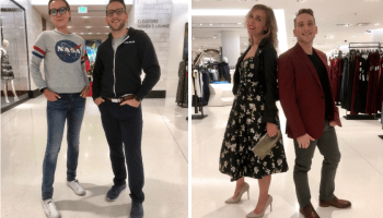 Before and after: Nordstrom reboots our geeks as they show up in style for the GeekWire Gala