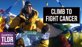 Biotech journalist Luke Timmerman sets his sights on Mount Kilimanjaro and $1M for cancer research