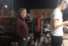 Billions served: Bill Gates photographed standing in line for a burger at Dick's Drive-In in Seattle