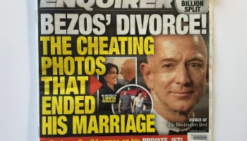 Jeff Bezos accuses National Enquirer of extortion over threat to publish naked photos of Amazon CEO
