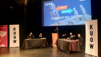 Will technology save us? Debate fuels pessimism among audience in Seattle