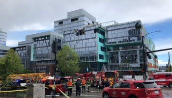 Four dead after construction crane topples at future Google building in busy Seattle tech corridor
