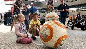 Star Wars droid builders roll out R2-D2, BB-8 and more to bring movies to life for kids of all sizes