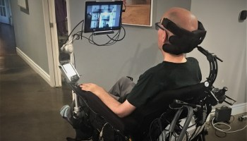Ex-NFL player Steve Gleason launches eye-controlled wheelchair system inspired by Microsoft hackathon