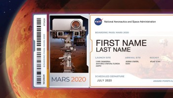 Now you can put your name on NASA's Mars 2020 rover (in teeny tiny letters)