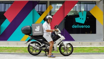 Amazon leads $575M funding round for Uber Eats competitor Deliveroo
