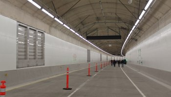 SR 99 tunnel opening