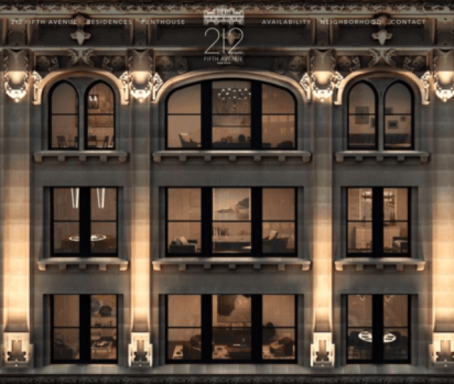 212 Fifth Avenue In New York City As Seen On The Website For The Property 212fifthavenue Com Screen Grab