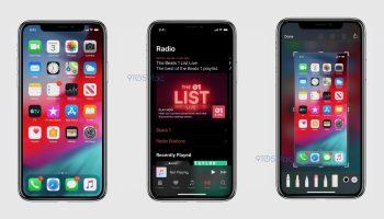 iOS 13 Leaked Dark Mode screenshots