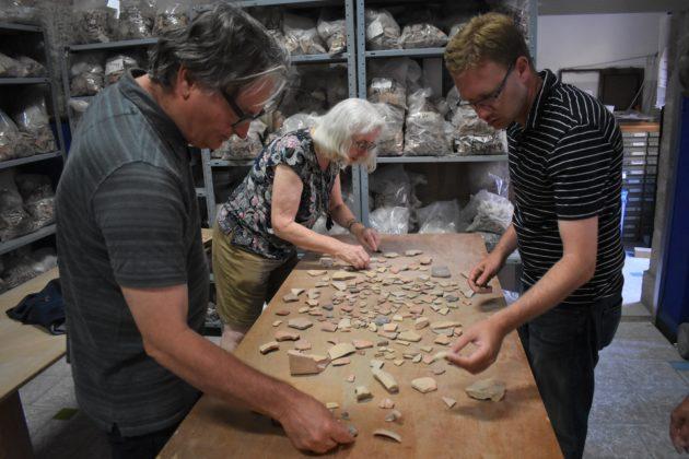 Sorting through artifacts