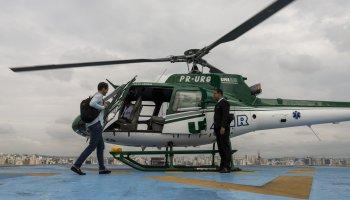 Voom helicopter service