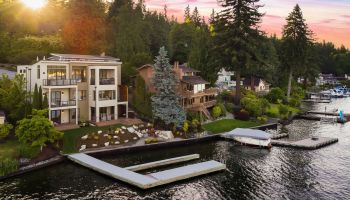 Modern Waterfront Estate on Mercer Island