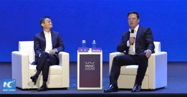 Jack Ma in an interview