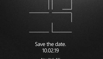 Microsoft event on Oct. 2 expected to feature new Surface devices