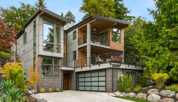 An Architectural Vision Ideally Located in Kirkland