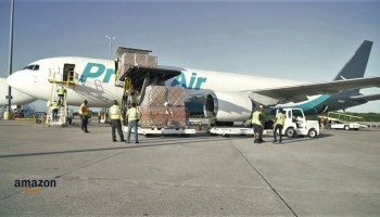 Amazon Air plane