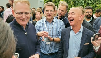 Why Amazon CEO Jeff Bezos sees new opportunity in the yard, on the sidewalk, and beyond