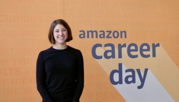 Today is 'Career Day' at Amazon, and they're really, really excited to meet you