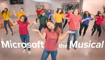 'Microsoft the Musical' features summer interns in a singing, dancing romp across tech giant's campus