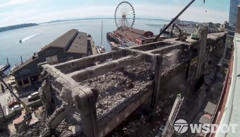 New video: Seattle's historic viaduct is gone in just months as demolition transforms city's waterfront