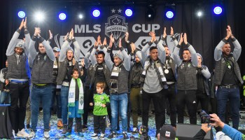 Photos: Seattle Sounders fans celebrate team's second MLS Cup victory with march and rally