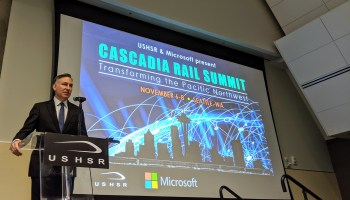Looming cuts to transit cast doubt on Microsoft's vision for Seattle-Vancouver high-speed rail