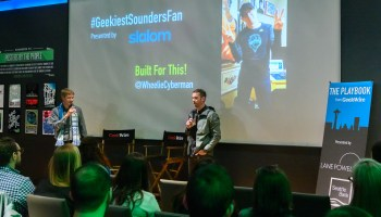 #GeekiestSoundersFan wins MLS Cup pitchside seats with this nerdy 8-bit rap
