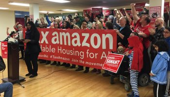 Emboldened by election day victory, new Seattle City Council launches next challenge to Amazon