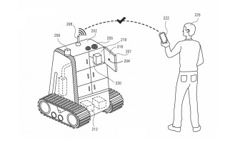 Amazon wins patent for robots that drop off bunches of items on delivery routes