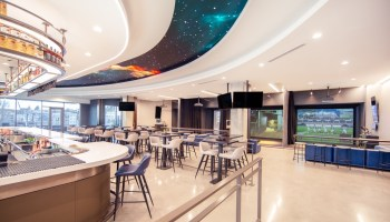 Topgolf arrives in Seattle area with high-tech indoor 'Lounge by Topgolf' concept at new Google building