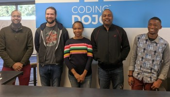 Refugees get free training for tech careers in pilot program launched by Coding Dojo and partners