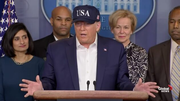 Trump considering limits on travel from U.S. coronavirus hotspots ...