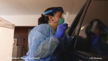 King County public health officials will be distributing 20,000 coronavirus test kits