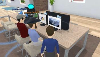 VirBELA Team Suite small group
