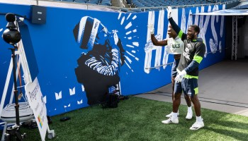 Teams players: Seattle Seahawks and Microsoft partner to put fans in a virtual 'Pregame Huddle'