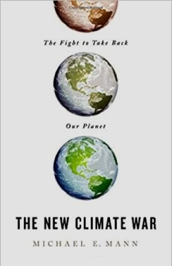 """The New Climate War"" book cover"